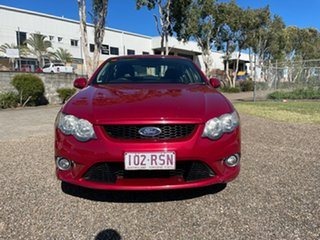 2011 Ford Falcon FG Upgrade XR6 Red 6 Speed Auto Seq Sportshift Sedan
