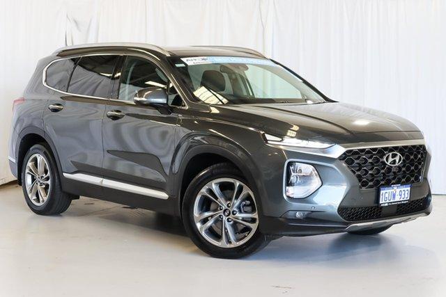 Used Hyundai Santa Fe TM MY19 Highlander Wangara, 2019 Hyundai Santa Fe TM MY19 Highlander Grey 8 Speed Sports Automatic Wagon