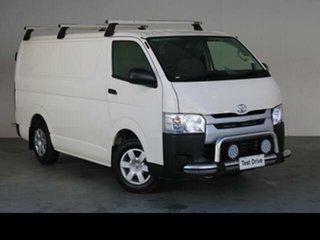 2018 Toyota HiAce French Vanilla Manual Van.
