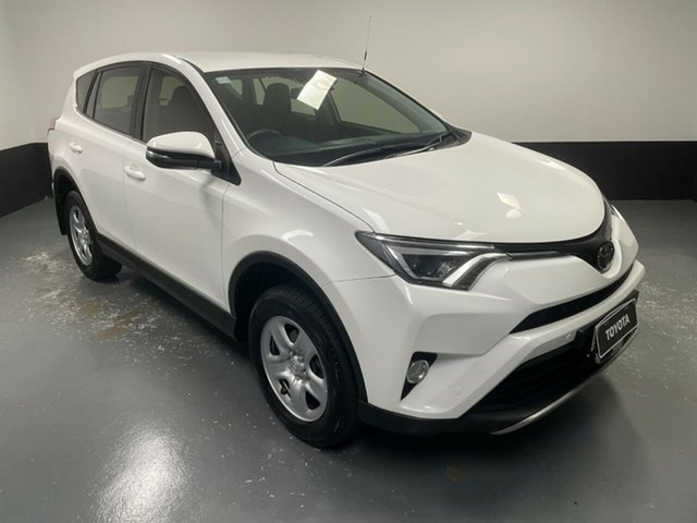 Used Toyota RAV4 ASA44R GX AWD Hamilton, 2018 Toyota RAV4 ASA44R GX AWD White 6 Speed Sports Automatic Wagon