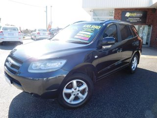 2007 Hyundai Santa Fe CM MY07 SX Black 5 Speed Sports Automatic Wagon.