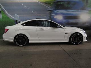 2013 Mercedes-Benz C-Class C204 MY13 C63 AMG SPEEDSHIFT MCT Edition 507 White 7 Speed.