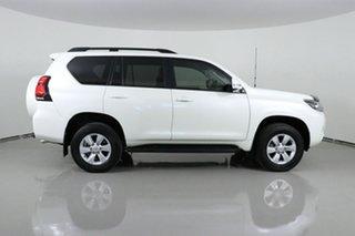 2018 Toyota Landcruiser GDJ150R MY18 Prado GXL (prem Int) (4x4) White 6 Speed Automatic Wagon