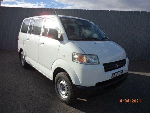 Used Suzuki APV GD MY06 Upgrade Wagga Wagga, 2012 Suzuki APV GD MY06 Upgrade 5 Speed Manual Van