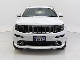 2013 Jeep Grand Cherokee WK MY14 SRT 8 (4x4) White 8 Speed Automatic Wagon.