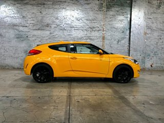 2012 Hyundai Veloster FS Coupe Yellow 6 Speed Manual Hatchback