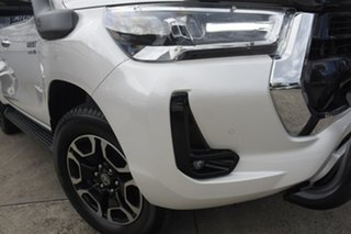 2020 Toyota Hilux GUN126R 4x4 Crystal Pearl 6 Speed Automatic Dual Cab.