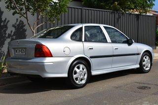 1999 Holden Vectra JS CD Grey 5 Speed Manual Sedan