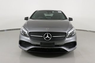 2017 Mercedes-Benz A180 176 MY18 Mountain Grey 7 Speed Automatic Hatchback.