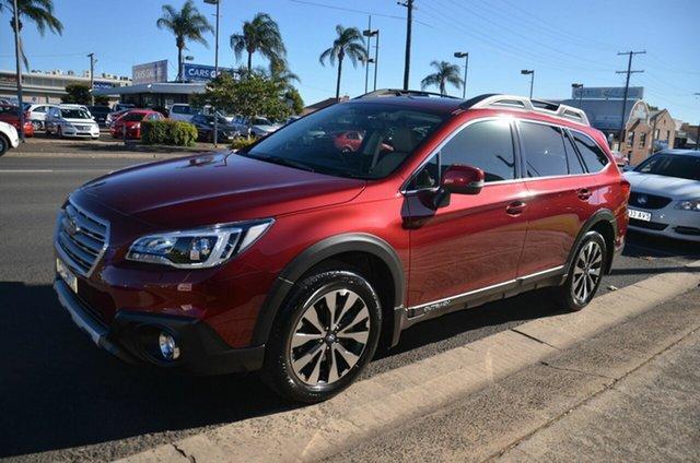 Used Subaru Outback MY17 2.5I Premium AWD Toowoomba, 2017 Subaru Outback MY17 2.5I Premium AWD Red Continuous Variable Wagon