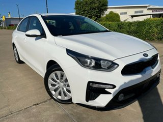 2019 Kia Cerato BD MY20 S White/010220 6 Speed Sports Automatic Sedan.