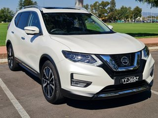 2017 Nissan X-Trail T32 Series II Ti X-tronic 4WD Ivory Pearl 7 Speed Constant Variable Wagon.