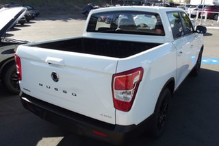 2021 Ssangyong Musso Q200 MY20.5 Ultimate Crew Cab White 6 Speed Sports Automatic Utility