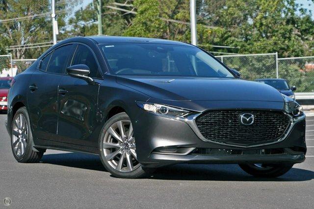 New Mazda 3 BP2S7A G20 SKYACTIV-Drive Evolve Waitara, 2021 Mazda 3 BP2S7A G20 SKYACTIV-Drive Evolve Grey 6 Speed Sports Automatic Sedan