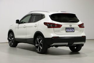 2018 Nissan Qashqai J11 MY18 TI White Continuous Variable Wagon