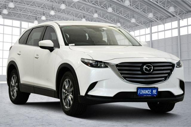 Used Mazda CX-9 TC Touring SKYACTIV-Drive Victoria Park, 2017 Mazda CX-9 TC Touring SKYACTIV-Drive White 6 Speed Sports Automatic Wagon