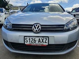 2012 Volkswagen Golf VI MY13 118TSI DSG Comfortline Silver 7 Speed Sports Automatic Dual Clutch.