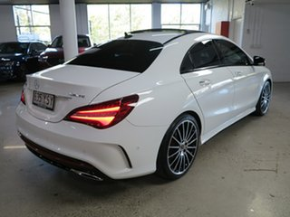 2019 Mercedes-Benz CLA-Class C117 809MY CLA250 DCT 4MATIC Sport White 7 Speed