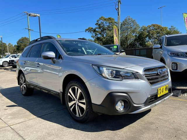 Used Subaru Outback B6A MY18 2.5i CVT AWD Glendale, 2018 Subaru Outback B6A MY18 2.5i CVT AWD Silver 7 Speed Constant Variable Wagon