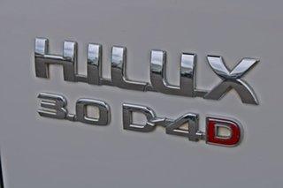 2008 Toyota Hilux KUN26R MY09 SR White 5 Speed Manual Utility