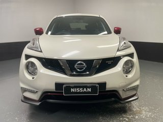 2018 Nissan Juke F15 MY18 NISMO X-tronic AWD RS White 8 Speed Constant Variable Hatchback.
