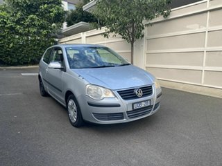 2006 Volkswagen Polo 9N MY2006 Club Silver 4 Speed Automatic Hatchback.