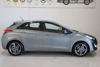 2016 Hyundai i30 GD5 Series II MY17 SR Silver 6 Speed Sports Automatic Hatchback.