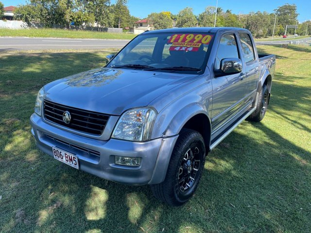 Used Holden Rodeo RA LT Crew Cab Clontarf, 2004 Holden Rodeo RA LT Crew Cab Grey 5 Speed Manual Utility