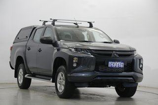 2019 Mitsubishi Triton MR MY19 GLX+ Double Cab Grey 6 Speed Sports Automatic Utility