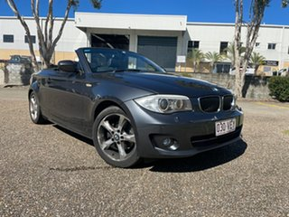 2012 BMW 120i E88 MY12 Grey 6 Speed Automatic Convertible.