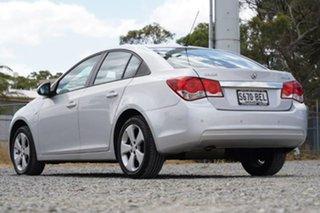 2013 Holden Cruze JH Series II MY14 Equipe Silver 6 Speed Sports Automatic Sedan.