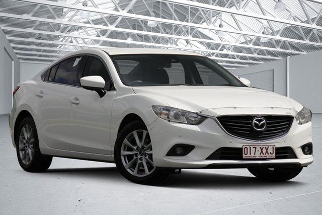 Used Mazda 6 6C MY17 (gl) Sport Eagle Farm, 2017 Mazda 6 6C MY17 (gl) Sport White 6 Speed Automatic Sedan