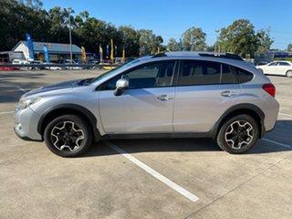 2012 Subaru XV 2.0I-L Silver Continuous Variable Wagon