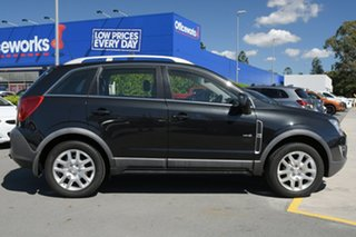 2012 Holden Captiva CG Series II MY12 5 Black 6 Speed Manual Wagon.