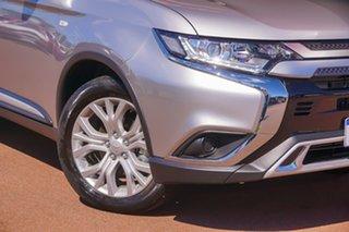 2020 Mitsubishi Outlander ZL MY20 ES 2WD Silver 6 Speed Constant Variable Wagon.