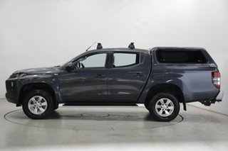 2019 Mitsubishi Triton MR MY19 GLX+ Double Cab Grey 6 Speed Sports Automatic Utility.