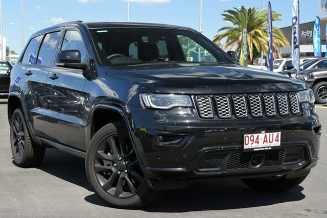 Used Jeep Grand Cherokee WK MY20 Night Eagle Aspley, 2020 Jeep Grand Cherokee WK MY20 Night Eagle Black 8 Speed Sports Automatic Wagon