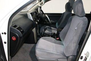 2012 Toyota Landcruiser Prado KDJ150R 11 Upgrade GX (4x4) White 6 Speed Manual Wagon