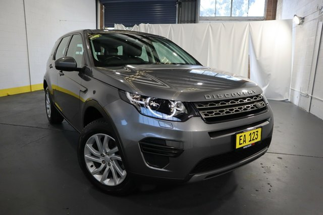 Used Land Rover Discovery Sport L550 18MY TD4 110kW SE Castle Hill, 2018 Land Rover Discovery Sport L550 18MY TD4 110kW SE Corris Grey 9 Speed Sports Automatic Wagon