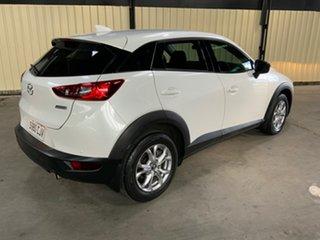 2018 Mazda CX-3 DK MY19 Maxx Sport (FWD) White 6 Speed Automatic Wagon.
