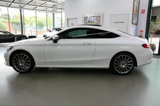 2017 Mercedes-Benz C-Class C205 808MY C300 9G-Tronic White 9 Speed Sports Automatic Coupe