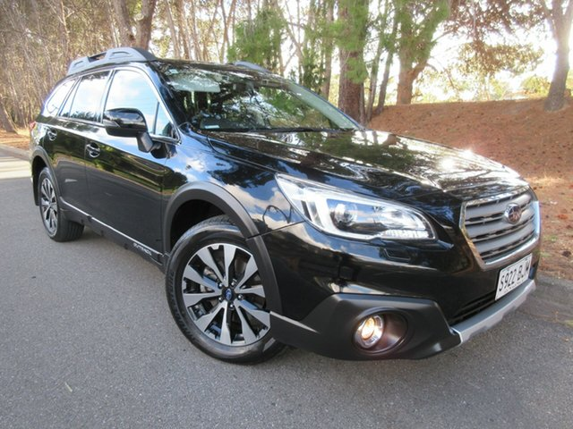 Used Subaru Outback B6A MY16 2.5i CVT AWD Premium Reynella, 2016 Subaru Outback B6A MY16 2.5i CVT AWD Premium Black 6 Speed Constant Variable Wagon