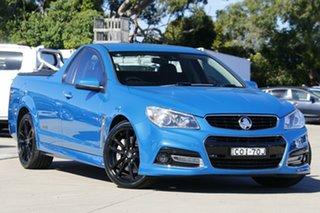 2013 Holden Ute VF MY14 SS V Ute Redline Blue 6 Speed Manual Utility.