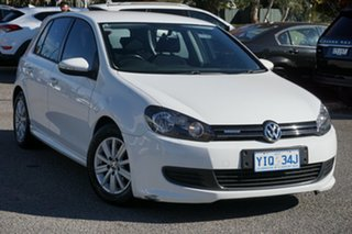 2011 Volkswagen Golf VI MY12 BlueMOTION Silver 5 Speed Manual Hatchback.