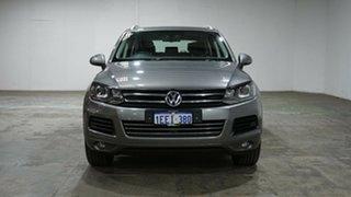 2013 Volkswagen Touareg 7P MY13 150TDI Tiptronic 4MOTION Grey 8 Speed Sports Automatic Wagon