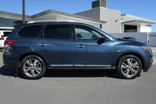 2014 Nissan Pathfinder R52 MY14 Ti X-tronic 2WD Blue 1 Speed Constant Variable Wagon.