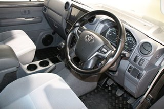 2019 Toyota Landcruiser VDJ79R GXL (4x4) Graphite 5 Speed Manual Double Cab Chassis
