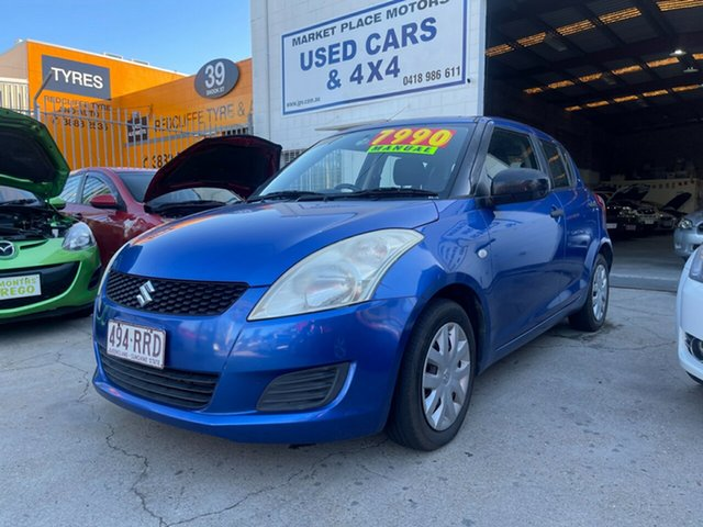Used Suzuki Swift FZ GA Clontarf, 2011 Suzuki Swift FZ GA Blue 5 Speed Manual Hatchback