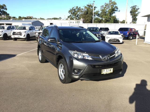 Pre-Owned Toyota RAV4 ZSA42R MY14 GX 2WD Cardiff, 2014 Toyota RAV4 ZSA42R MY14 GX 2WD Grey 7 Speed Constant Variable Wagon