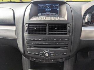 2013 Ford Falcon FG MkII Ute Super Cab Silver 6 Speed Automatic Utility